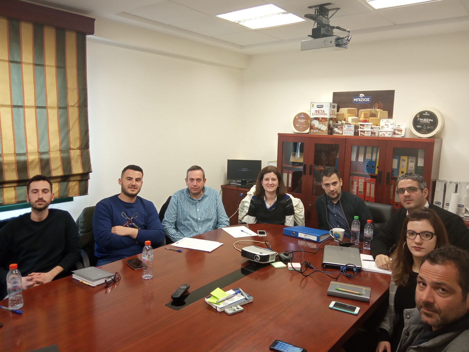 "2nd ""ANATHREPSI"" Project Meeting Monday 15th of March 2019"