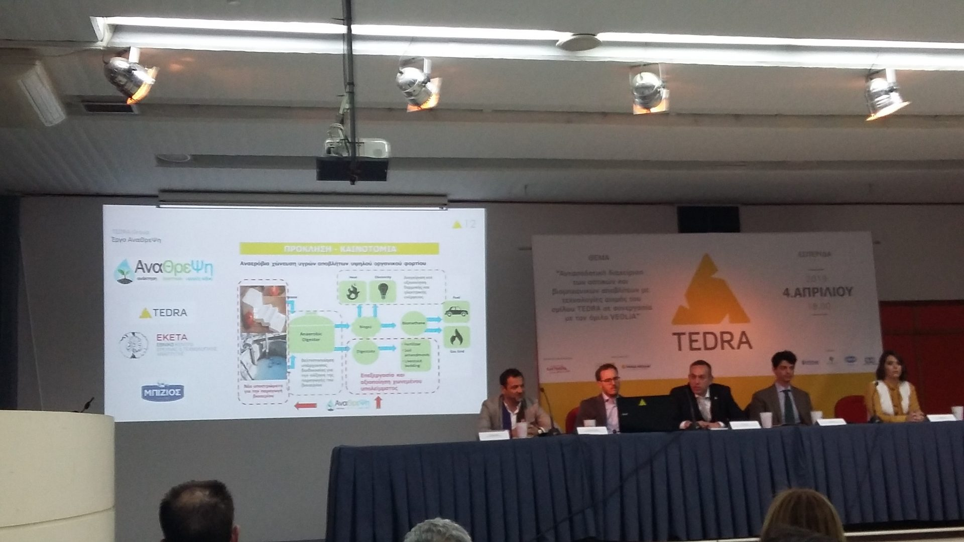 Presentation of ANATHREPSI project during the TEDRA Group conference